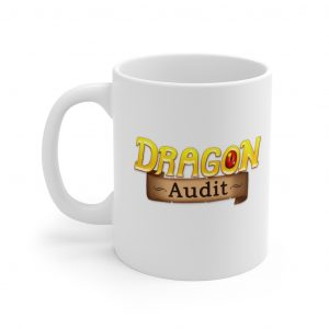 Chibi White Mug 11oz (Dragon Audit)