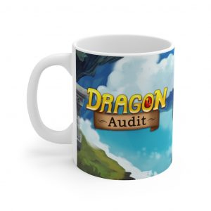 Title Art Mug 11oz (Dragon Audit)