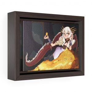 Hoard Framed Canvas (Dragon Audit)